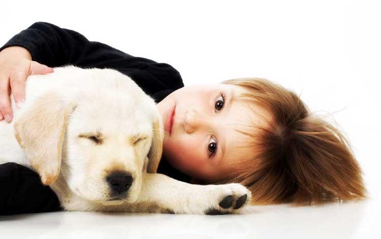 žival in otrok